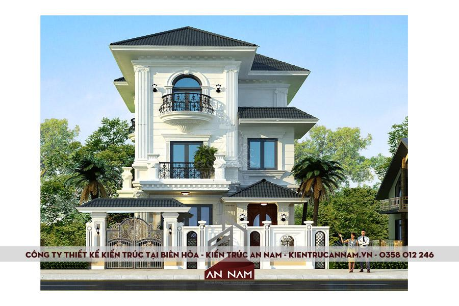 thiết kế biệt thự tại Biên Hòa