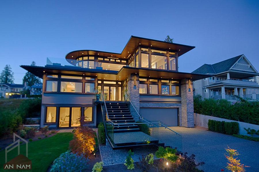 Phong cách thiết kế biệt thự hiện đại