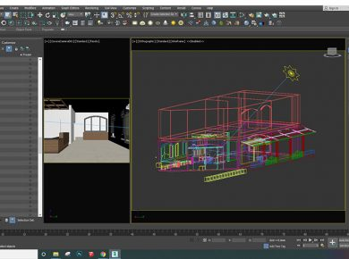 Thiết kế kiến trúc bằng phần mềm gì?