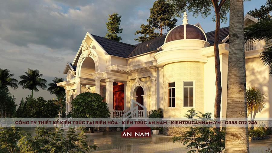 Thiết kế nhà biệt thự phong cách tân cổ điển