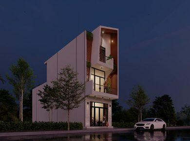 thiết kế ngôi nhà mới