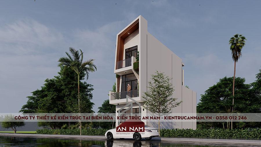 thiết kế nhà phố 5x20