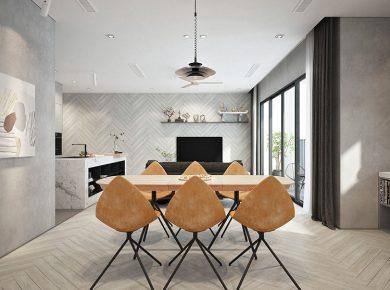 Thiết kế nội thất phong cách Chiết Trung