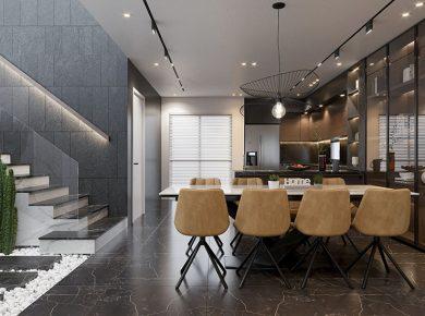thiết kế nội thất phòng bếp Vũng Tàu