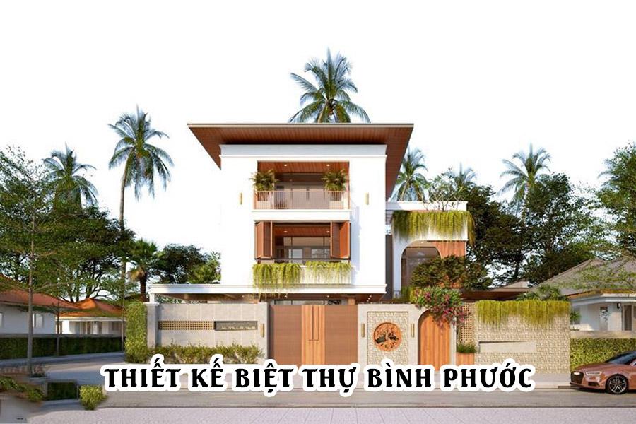 Thiết kế biệt thự tại Bình Phước