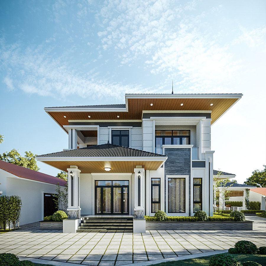 Thiết kế biệt thự tại Bình Dương