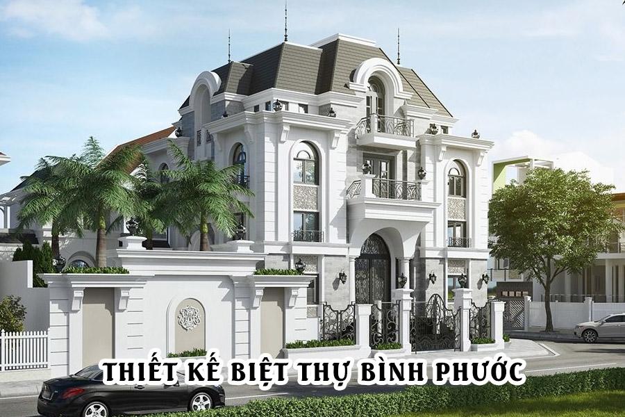 Mẫu thiết kế biệt thự tại Bình Phước